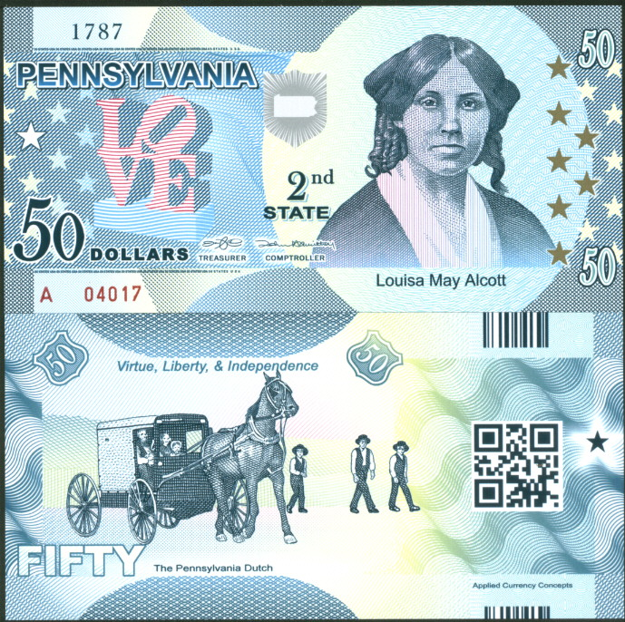 ACC STATE BANK NOTE SERIES: CONNECTICUT POLYMER FANTASY