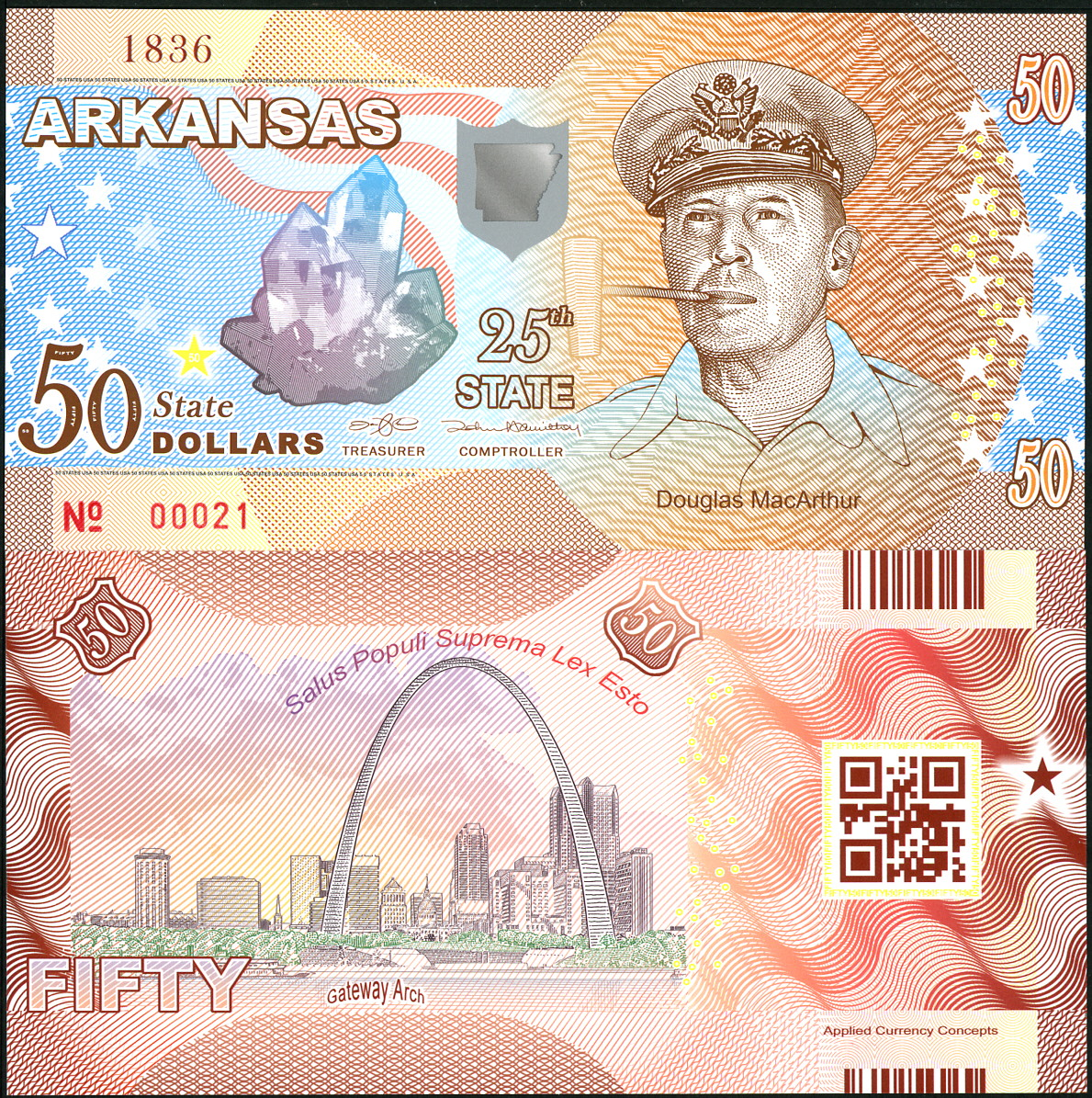 ACC STATE NOTE SERIES: TEXAS POLYMER FANTASY ART BILL